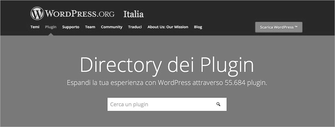 Plugin di WordPress